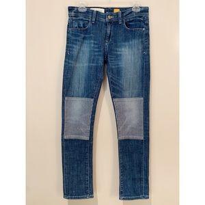 Pilcro & The Letterpress Patchwork Boho Crop Jeans